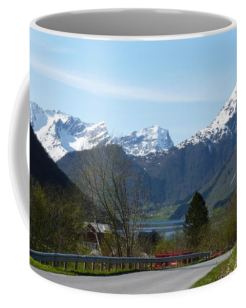 Coffee Mug featuring the photograph 1000m by Katerina Naumenko