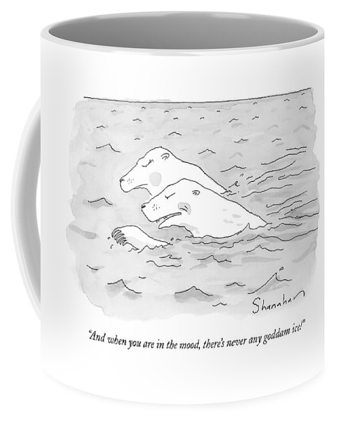 Sex Coffee Mug featuring the drawing And When You Are In The Mood by Danny Shanahan