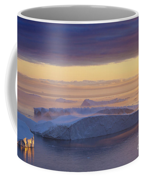 Iceberg Coffee Mug featuring the photograph 101130p123 by Arterra Picture Library