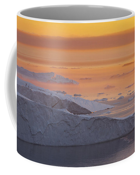 Iceberg Coffee Mug featuring the photograph 101130p124 by Arterra Picture Library