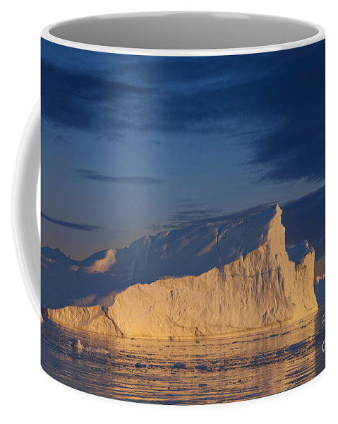 Iceberg Coffee Mug featuring the photograph 101130p128 by Arterra Picture Library