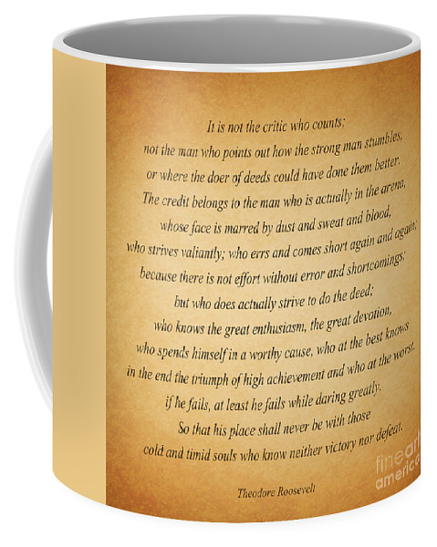 Theodore Roosevelt Coffee Mug featuring the photograph 104- Theodore Roosevelt by Joseph Keane