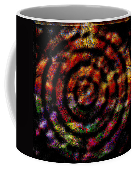 Abstract Coffee Mug featuring the digital art 1066 Abstract Thought by Chowdary V Arikatla