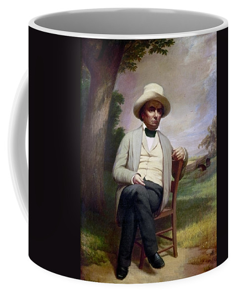19th Century Coffee Mug featuring the painting Daniel Webster (1782-1852) by Granger