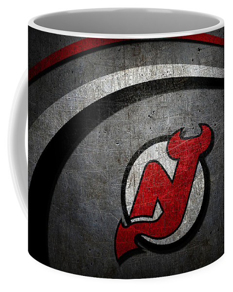 Devils Coffee Mug featuring the photograph New Jersey Devils by Joe Hamilton