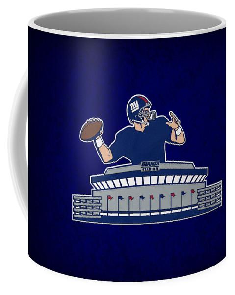 Giants Coffee Mug featuring the photograph New York Giants by Joe Hamilton