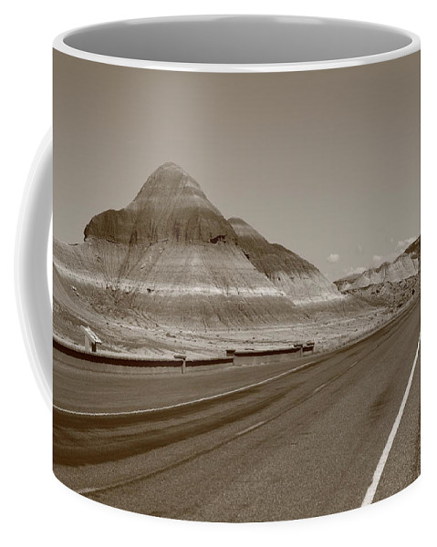 66 Coffee Mug featuring the photograph Painted Desert by Frank Romeo