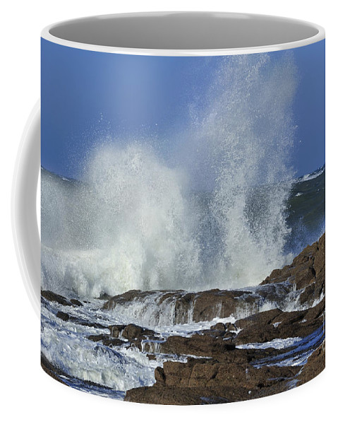 Water Coffee Mug featuring the photograph 110111p190 by Arterra Picture Library