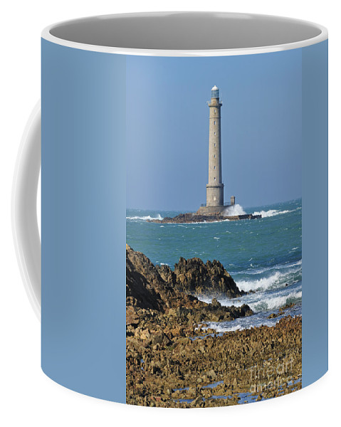 Lighthouse Coffee Mug featuring the photograph 110111p215 by Arterra Picture Library