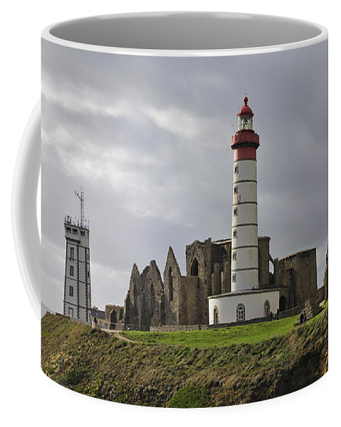 Pointe Saint Mathieu Coffee Mug featuring the photograph 110202p140 by Arterra Picture Library