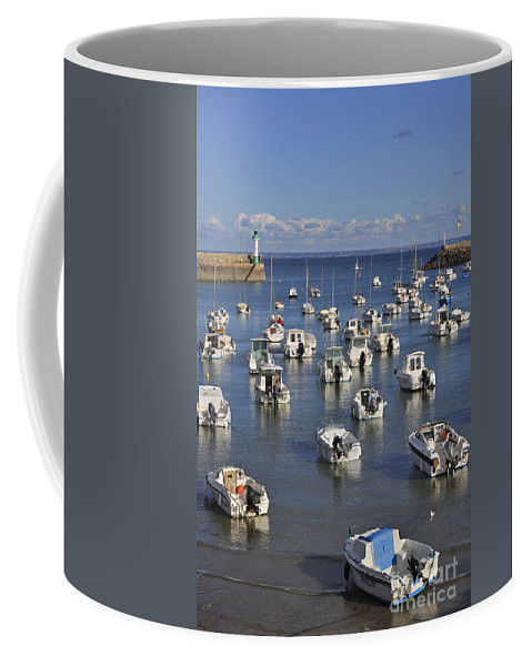 Saint-quai-portrieux Coffee Mug featuring the photograph 110202p149 by Arterra Picture Library