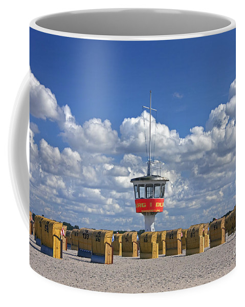 Travem�nde Coffee Mug featuring the photograph 110506p022 by Arterra Picture Library