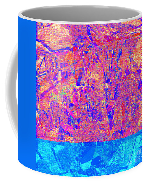 Abstract Coffee Mug featuring the digital art 1182 Abstract Thought by Chowdary V Arikatla