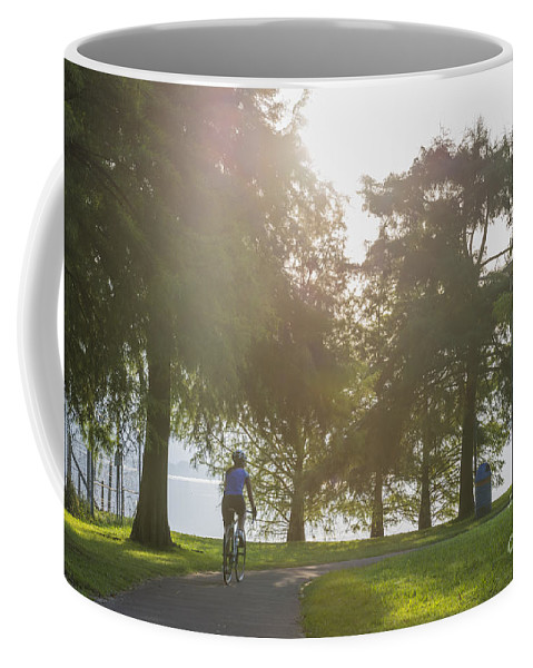 Bicycle Coffee Mug featuring the photograph Bicycle by Mats Silvan