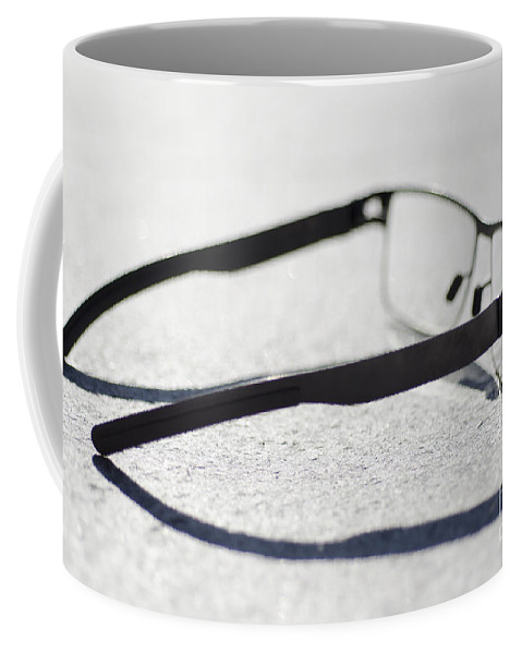 Eyeglasses Coffee Mug featuring the photograph Eyeglasses by Mats Silvan