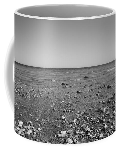 America Coffee Mug featuring the photograph Lake Huron by Frank Romeo