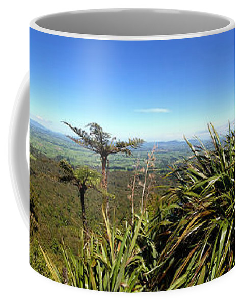 Bush Coffee Mug featuring the photograph New Zealand by Les Cunliffe
