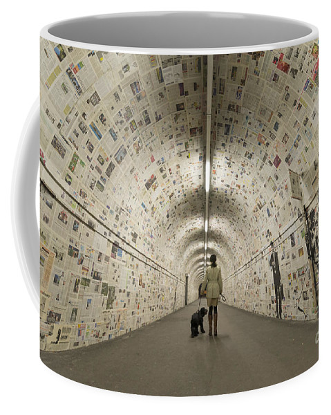 Tunnel Coffee Mug featuring the photograph Tunnel by Mats Silvan
