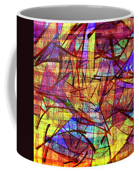 Abstract Coffee Mug featuring the digital art 1261 Abstract Thought by Chowdary V Arikatla
