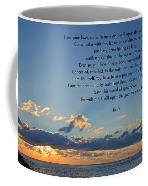 Coffee Mug featuring the photograph 129- Rumi by Joseph Keane