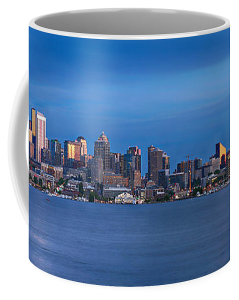Seattle Coffee Mug featuring the photograph Seattle by Paul Fell