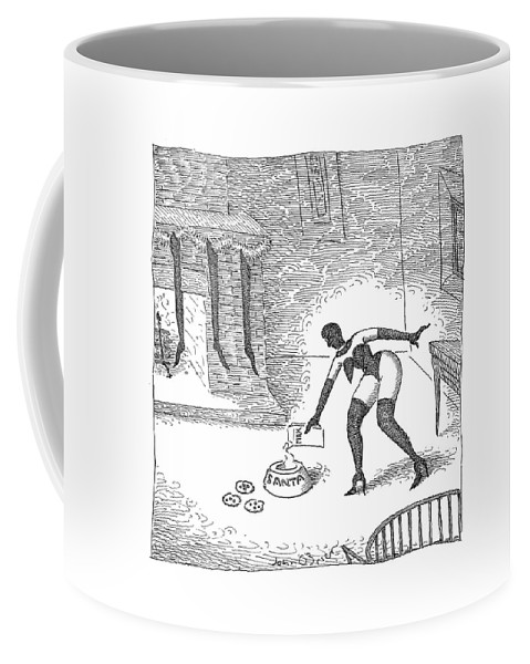 S&m Coffee Mug featuring the drawing New Yorker December 25th, 2006 by John O'Brien