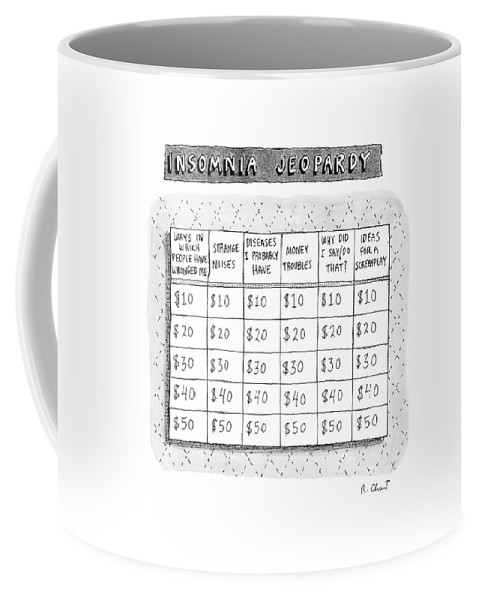 Insomnia Jeopardy Coffee Mug