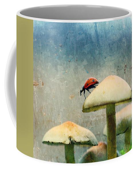 Ladybug Coffee Mug featuring the photograph Ladybug by Heike Hultsch