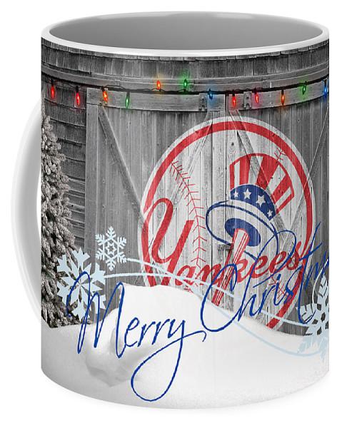 Yankees Coffee Mug featuring the photograph New York Yankees by Joe Hamilton