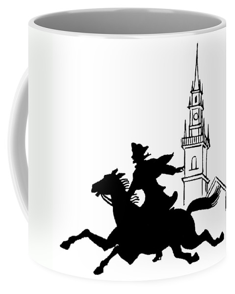 1775 Coffee Mug featuring the photograph Paul Reveres Ride by Granger