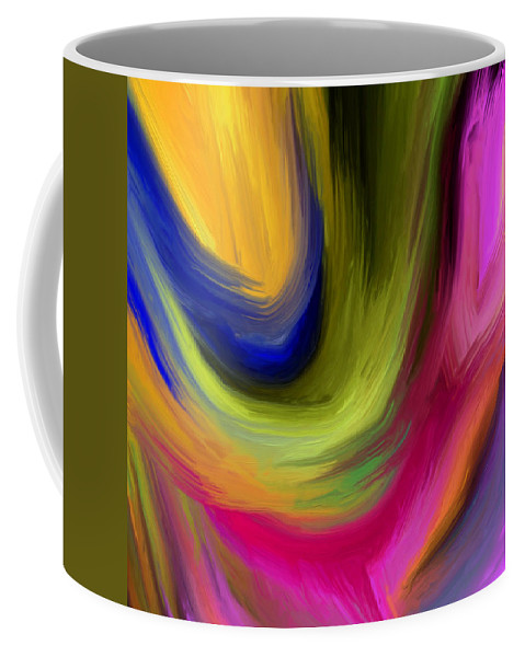 Abstract Coffee Mug featuring the painting 148a by Ely Arsha
