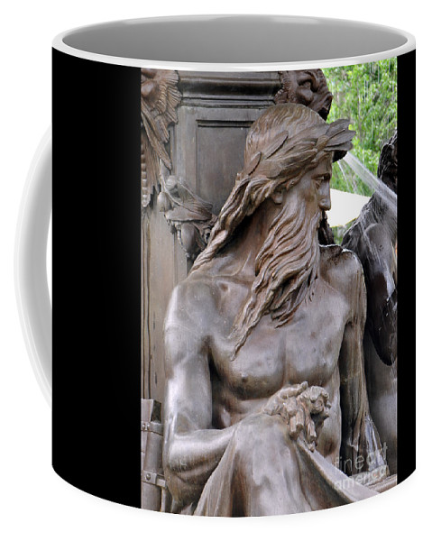 Boston Coffee Mug featuring the photograph Brewer Fountain Boston Ma by Staci Bigelow