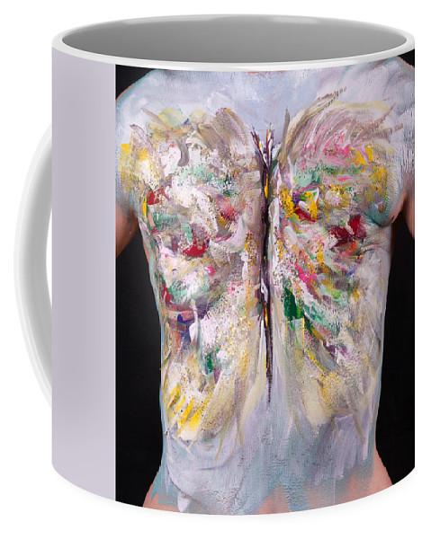 Hadassah Greater Atlanta Coffee Mug featuring the photograph 15. Judy Robkin, Artist, 2015 by Best Strokes - formerly Breast Strokes - Hadassah Greater Atlanta