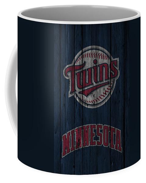 Twins Coffee Mug featuring the photograph Minnesota Twins by Joe Hamilton