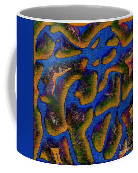 Abstract Coffee Mug featuring the digital art 1541 Abstract Thought by Chowdary V Arikatla