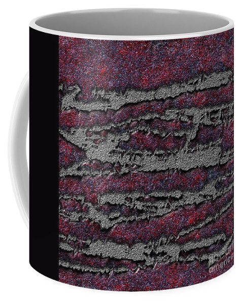 Abstract Coffee Mug featuring the digital art 1548 Abstract Thought by Chowdary V Arikatla