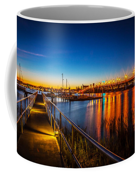 Bridge Of Lions Coffee Mug featuring the photograph Bridge Of Lions St Augustine Florida Painted by Rich Franco