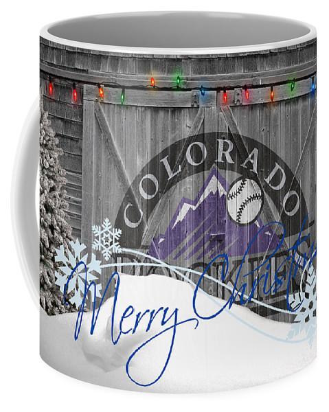 Rockies Coffee Mug featuring the photograph Colorado Rockies by Joe Hamilton