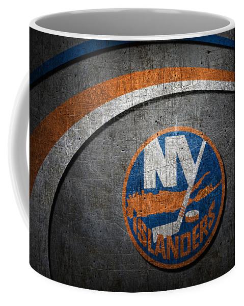 Islanders Coffee Mug featuring the photograph New York Islanders by Joe Hamilton