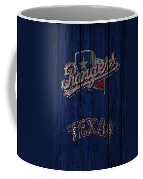 Rangers Coffee Mug featuring the photograph Texas Rangers by Joe Hamilton