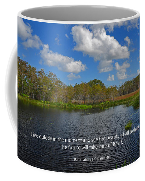 Paramahansa Yogananda Coffee Mug featuring the photograph 166- Paramahansa Yogananda by Joseph Keane