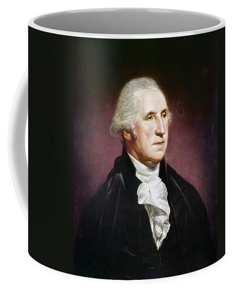 1795 Coffee Mug featuring the photograph George Washington by Granger