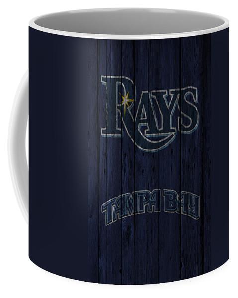 Rays Coffee Mug featuring the photograph Tampa Bay Rays by Joe Hamilton