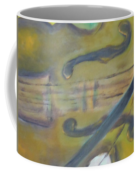 Abstract Coffee Mug featuring the painting Art By Lyle by Lord Frederick Lyle Morris - Disabled Veteran