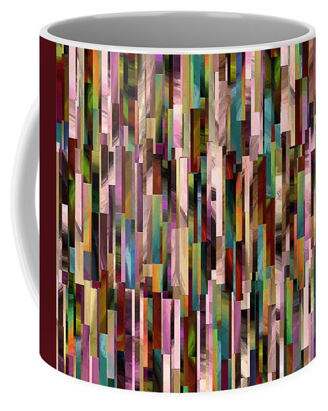 Abstract Coffee Mug featuring the painting 186a by Ely Arsha