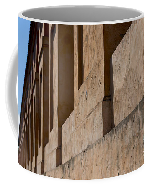 Arcade Coffee Mug featuring the photograph Archway by Mats Silvan