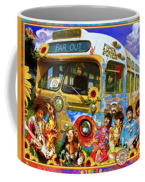 1967 Coffee Mug featuring the photograph 19 Sixty 7 by John Anderson