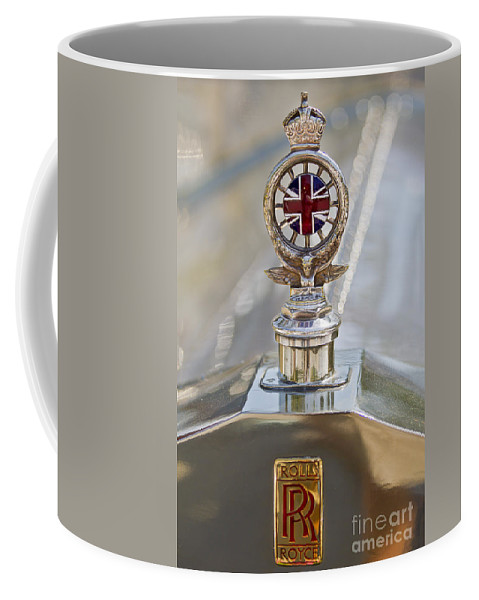 Classic Coffee Mug featuring the photograph 1909 Rolls Royce by Dennis Hedberg