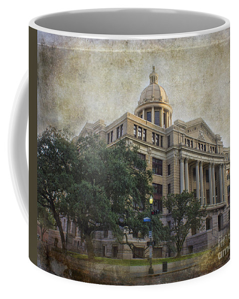 Building Coffee Mug featuring the photograph 1910 Harris County Courthouse by TN Fairey