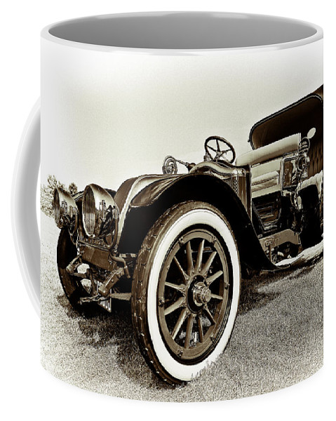 1914 Coffee Mug featuring the photograph 1914 Renault Type Ef Victoria by Marcia Colelli